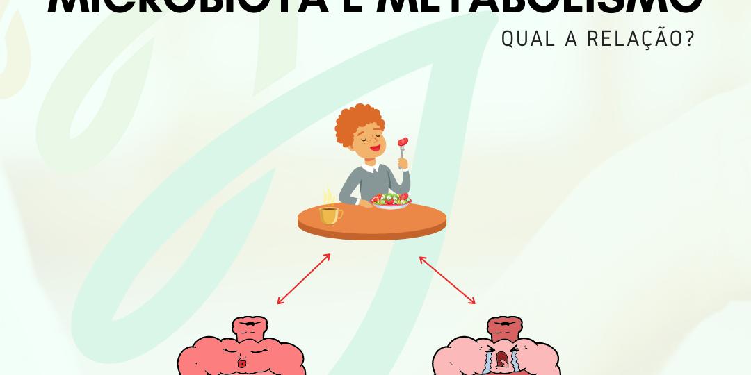 Microbiota e metabolismo, qual a relação?