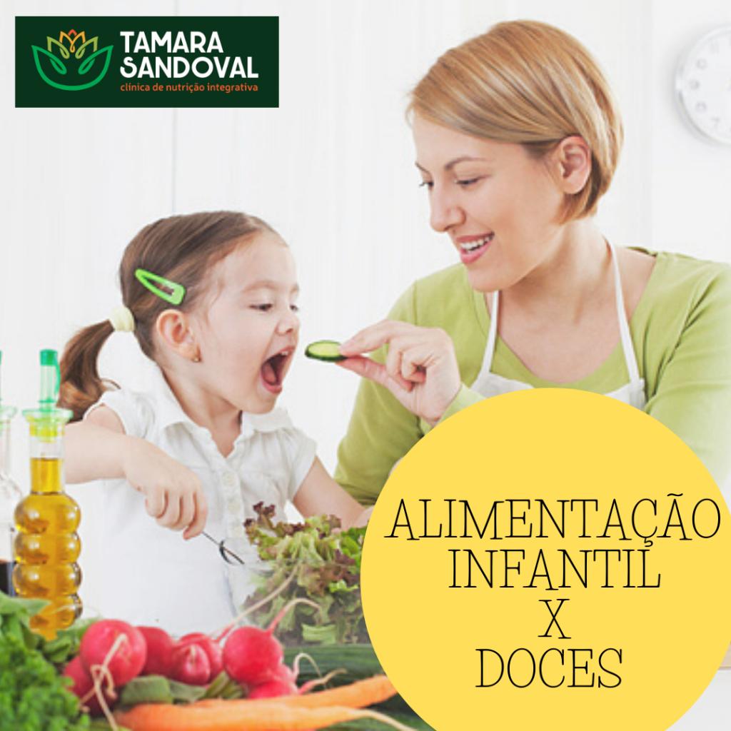 Alimentação Infantil X Doces