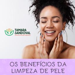Os beneficios da limpeza de pele